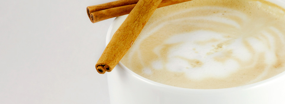 Cinnamon Sticks With Latte
