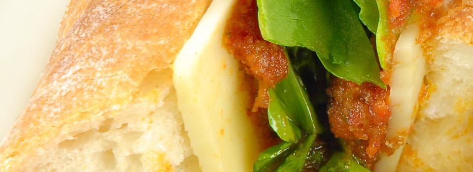 Tuscan Veggie Sandwich